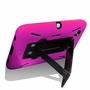 Samsung Galaxy Tab 2 7.0 Hybrid Silicone Case Cover Stand Pink