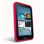 Samsung Galaxy Tab 2 7.0 Hybrid Silicone Case Cover Stand Red