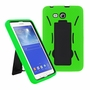 Samsung Galaxy Tab 3 Lite 7.0 Hybrid Silicone Case Cover Stand Green