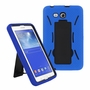 Samsung Galaxy Tab 3 Lite 7.0 Hybrid Silicone Case Cover Stand Navy