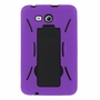 Samsung Galaxy Tab 3 Lite 7.0 Hybrid Silicone Case Cover Stand Purple