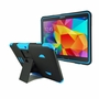 Samsung Galaxy Tab 4 10.1 Impact Silicone Case Dual Layer with Stand Blue