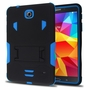 Samsung Galaxy Tab 4 7.0 Impact Silicone Case Dual Layer with Stand Blue