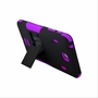 Samsung Galaxy Tab 4 8.0 Impact Silicone Case Dual Layer with Stand Purple