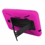Samsung Galaxy Tab A 8.0 / T355 Hybrid Silicone Case Cover Stand Pink