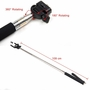 Selfie Stick Extendable Monopod Bluetooth Handheld Remote