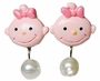 Set Of 3 Creative Girl's Earclip Children Jewelry No Pierced Ear Clip