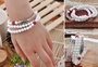 Silver Fish Bracelet for Mens or Women's Fashion Jewelry WHITE TRIDACNA BRACELET -