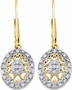 Sterling Silver 0.13CTW DIAMOND  FASHION EARRINGS - Earrings