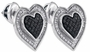 Sterling Silver 0.34CT-DIA MICRO-PAVE EARRINGS - Earrings