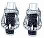 Sterling Silver 0.61CTW DIAMOND MICROPAVE EARRINGS - Earrings