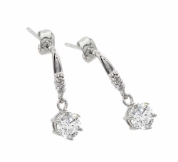 Sterling Silver Dangle Earrings -