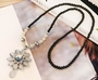[Sunflower] Set of 2 Costume Necklace Statement Necklace Decor Chains