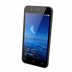 Supersonic 4.5 Inch Unlocked Smartphone with Android 5.1 4G LTE and Bluetooth- Black
