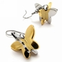 Titanium Earrings 316L Steel Quality Jewelry - Color Golden