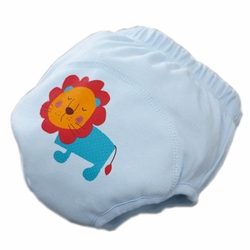 Toddlers Infant Reusable Washable Nappy Baby Newborn Flexible Diaper Pants Lion