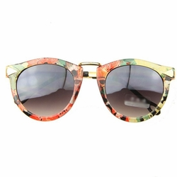Tropical Blooms Fashion Sunglasses Perfect For Outdoor Activities-use Eyewear