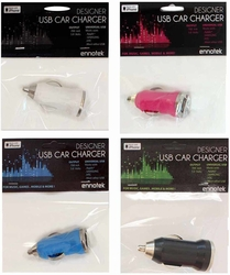 Universal Usb Car Chargers Case Pack 24