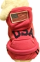 Warmth Pet Dog Clothes Winter Dress Fashion Pet Dog Clothing USA Cloth Red