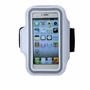 [WHITE] SPORTY Armband+ Key Holder for iPhone 5/5S/5C/4 inches Smart Phone