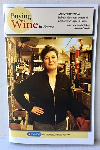 "Hardcopy booklet for ""Buying Wine in France"" interview"