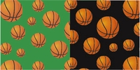 Basketball - QuickStitch Embroidery Paper