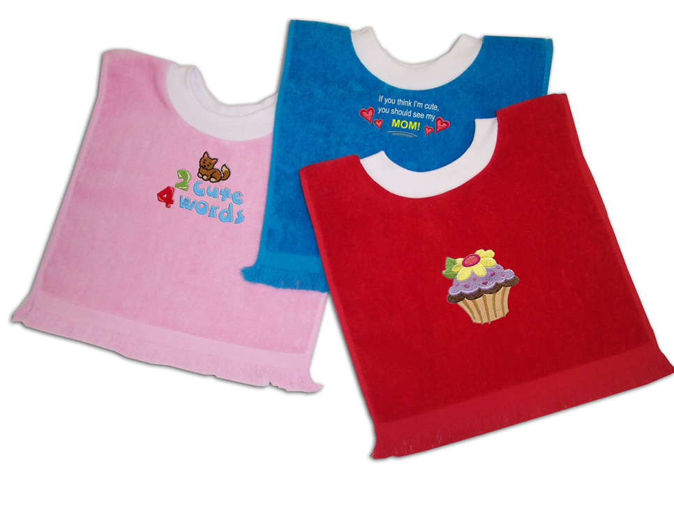 Baby embroidery blanks