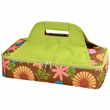 Clearance Priced - Casserole Carriers - Brown Floral