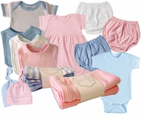 Cotton interlock BABY APPAREL