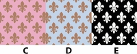 Fleur de lis - QuickStitch Embroidery Paper