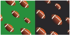 Clearance Priced - Football - QuickStitch Embroidery Paper
