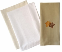 ***Clearance Priced*** - Improved Waffle Weave Kitchen Towel with Border