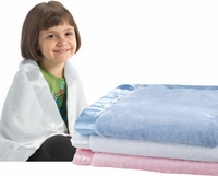 Large Asst. of Blank Baby Blankets