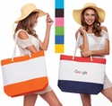 Stripe Nautical Beach Bag