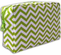 **Clearance Priced**- Microfiber Chevron Cosmetic Bags