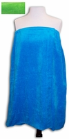 Clearance Priced - PLUS SIZE - Womans Terry Velour Spa Wrap