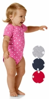 Infant Baby Rib Bodysuit with dots