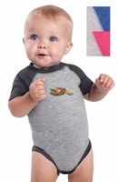 Rabbit Skins - Infant Baseball Fine Jersey Bodysuit