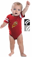 Rabbit Skins - Infant Football Fine Jersey Bodysuit