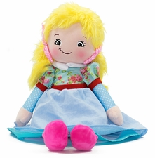Cubbies Rag Doll - Blond Hair - Joanna
