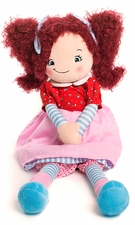 Cubbies Rag Doll - Red Hair - Brigitte