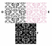 Samantha Small Print - QuickStitch Embroidery Paper