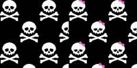 Clearance Priced - Skulls - QuickStitch Embroidery Paper