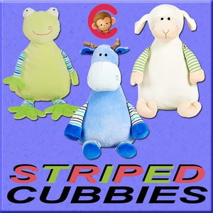 Clearance Priced - STRIPED Baby Cubbies