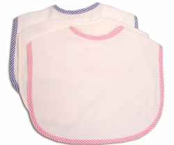 Thirsty Cotton Terry Baby Bibs (Individual)