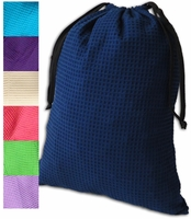 """Clearance Priced - Waffle Weave Lingerie/Shoe Bag - 18""""x 13""""."""