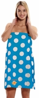***Clearance Priced*** - Women's Polka Dot Print Body Wrap