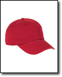 6-Panel Washed Twill Low-Profile Cap