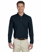 Easy Blend Long-Sleeve Polo