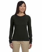 Ladies'  100% Organic Cotton Long-Sleeve T-Shirt